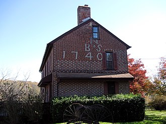 Mount Pleasant, Burlington County, New Jersey - Barzilla and Sarah Newbold house, ca. 2010