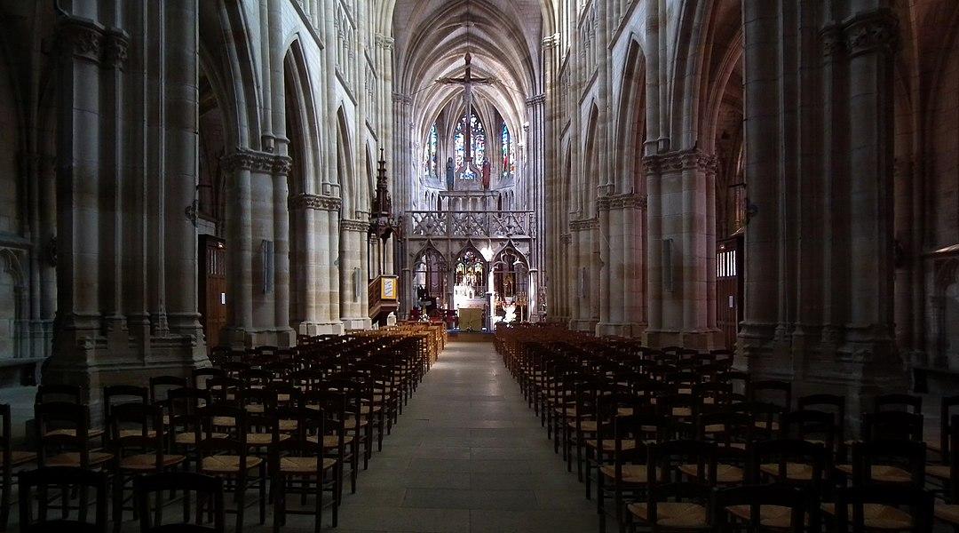 Basilica of Notre-Dame       Native name Basilique Notre-Dame   Location L'Épine, France   Coordinates 48°58′37″N, 4°28′13″E      Authority control   : Q2886966