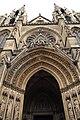 Basilique Sainte-Clotilde Paris Portail central 1 26102018.jpg