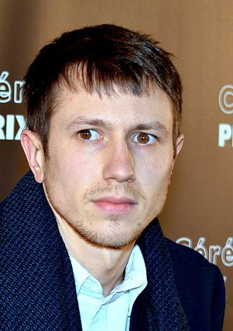 Bastien Bouillon - Bastien Bouillon at the Lumières Awards 2015
