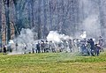 Battle of Guiliford Courthouse 1781 reenactment 11.jpg