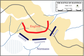what caused the battle of hastings
