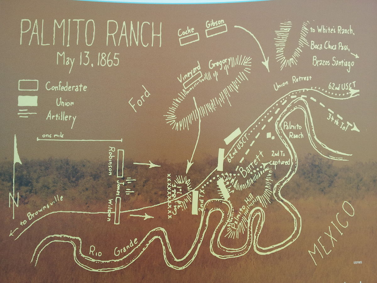 Battle of Palmito Ranch  Wikipedia