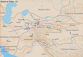 Li Siye - Battle of Talas