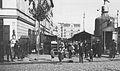 Bazar Różyckiego przed wojną wejście od strony ul. Targowej.jpg