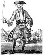 Blackbeard (18th century lithograph)