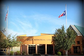 Mission, Texas - Speer Memorial Library