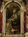 Beata Vergine Maria del Rosario, pala San Gregorio (Concadirame).JPG