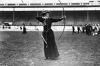 Beatrice Hill-Lowe Irish archer