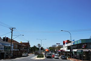 Beaudesert, Queensland - Main street of Beaudesert