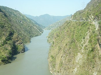 Beauty of Beas river, manali.jpg