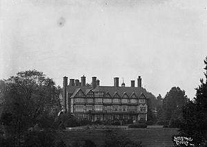 Henry Ripley - Sir Henry William Ripley's new house, Bedstone Court c.1900