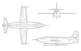 Bell X-1 line art EG-0081-01.png
