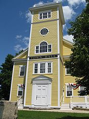 Bellingham Town Hall, June 2010, Bellingham MA.jpg