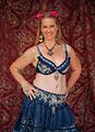 Belly dancer at the 2012 Las Vegas Age of Chivalry (8104145925).jpg