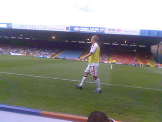 Ben Watson (footballer, born July 1985) - Watson training with Crystal Palace in 2008.