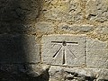 Bench Mark , St John the Baptist, Achurch - geograph.org.uk - 1340337.jpg