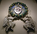 Benedetto buglioni, stemma e angeli.JPG