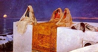 Jean-Joseph Benjamin-Constant - Image: Benjamin Constant Arabian Nights