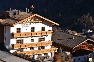 Sölden - Berghof (Sölden), origin homestead