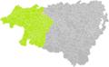 Bergouey-Villenave (Pyrénées-Atlantiques) dans son Arrondissement.png
