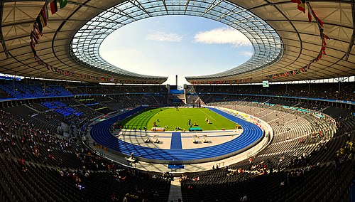 Berliner Olympiastadion day