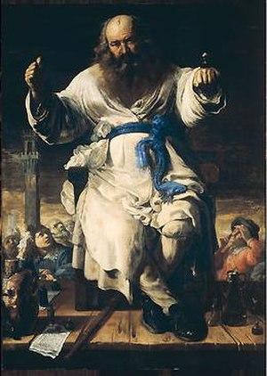 Bernardino Mei - The Charlatan, 1656. 190cm x 135cm