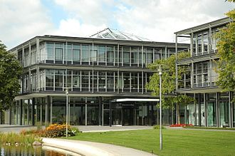 Bertelsmann Stiftung - Headquarters of the Bertelsmann Stiftung in Gütersloh (2007)