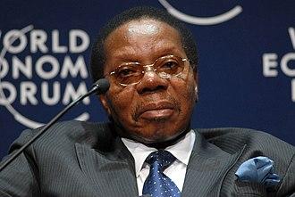 Bingu wa Mutharika - Image: Bingu Wa Mutharika World Economic Forum on Africa 2008