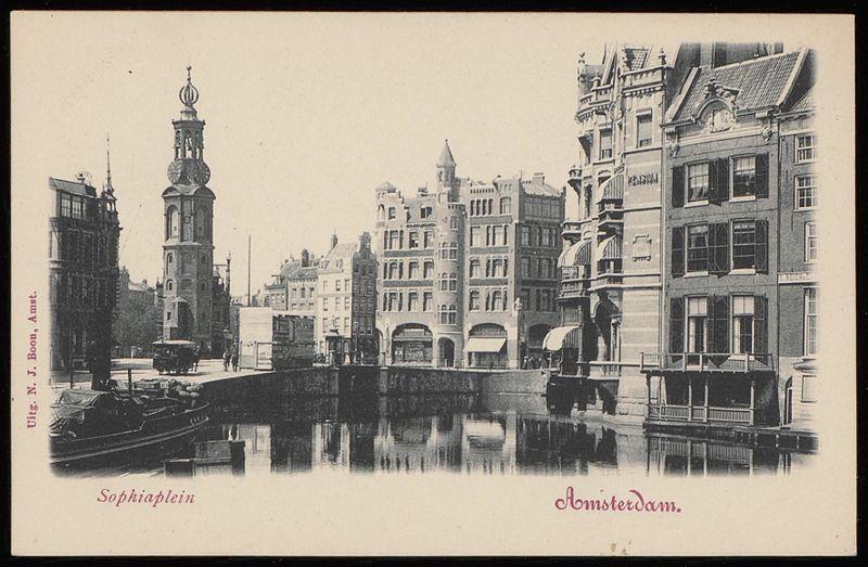File:Binnen Amstel met rechts de achterzijde van de Nieuwe Doelenstraat.jpg