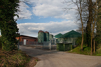 Biogas - Biogas production in rural Germany