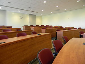 Biola University - Lecture hall at Biola University in La Mirada, California