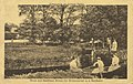 Birkenwerder, Brandenburg - Wasserpartie am hinteren Garten (Zeno Ansichtskarten).jpg