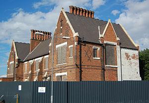 Birmingham Union Workhouse - The last-surviving building in September 2013