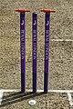 Bishop's Stortford Cicket Club cricket stumps, Hertfordshire 1.jpg