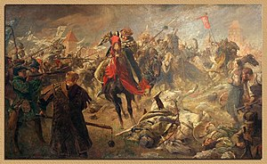 Jagiellonian dynasty - Thirteen Years' War - Battle of Chojnice in 1454