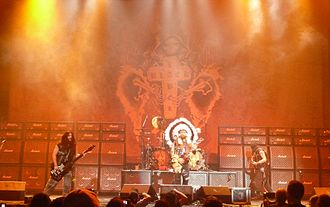 Black Label Society - Black Label Society performing at Allen Event Center in Allen, Texas on October 16, 2011
