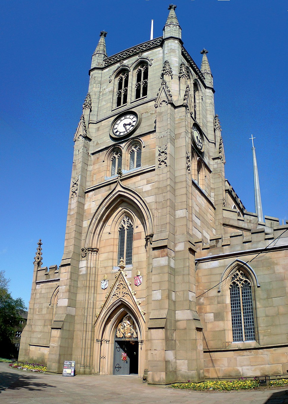 Blackburn Cathedral west front