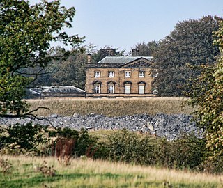 Blagdon Hall Grade I listed building in the United Kingdom