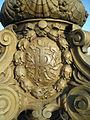 Blason de la République Française sur un cartouche d'un des lampadaires du pont Alexandre III.jpg