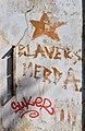 Blavers merda, graffiti a Burjassot.jpg
