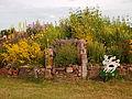 Bloemenpracht in De Alde Feanen nabij het landbouwmuseum.JPG
