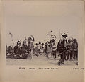 Blood Indian pow-wow dance Group no 3 (HS85-10-22804).jpg