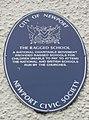 Blue Plaque, The Ragged School - geograph.org.uk - 574867.jpg