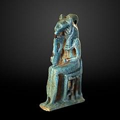 Blue lion goddess-AF 12842
