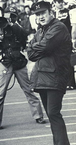 Miami RedHawks football - Coach Schembechler