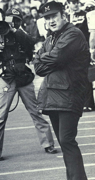 Miami RedHawks football - Coach Schembechler