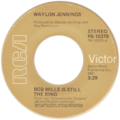 Bob Wills Is Still the King by Waylon Jennings US vinyl.png