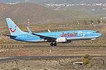 Boeing 737-8K5(w) 'OO-JAH' Jetairfly (24707479501).jpg