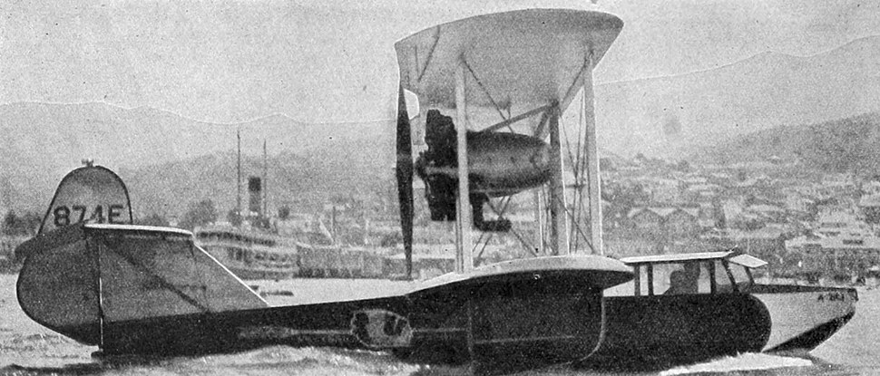 Boeing model 204 Aero Digest February,1930